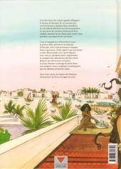 Verso de Sur les terres d'Horus -3- Tiasatré ou le jugement d'Anubis