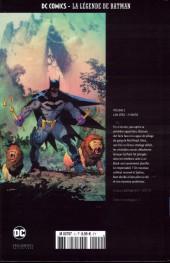 Verso de DC Comics - La légende de Batman -22- L'An zéro - 2e partie