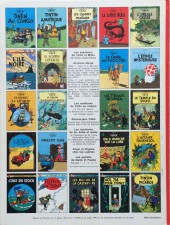 Verso de Tintin (Historique) -7C3ter- L'île noire