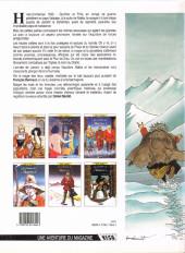 Verso de Les chemins de Malefosse -6- Tschäggättä