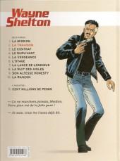 Verso de Wayne Shelton -2c12- La trahison