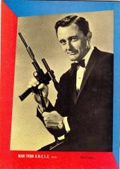 Verso de Man from U.N.C.L.E. (The) (Gold Key - 1965) -1- (sans titre)