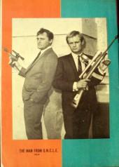 Verso de Man from U.N.C.L.E. (The) (Gold Key - 1965) -4- (sans titre)