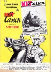 Verso de Kit Carson -10- La ceinture de paix des Pawnees