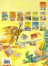 Verso de Pierre Tombal -1b1995- Les 44 premiers trous