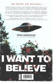 Verso de X-Files (The) -5- Les nouvelles affaires non classées - 5