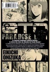 Verso de GTO - Paradise Lost -7- Vol. 7