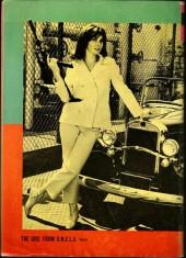 Verso de Girl from U.N.C.L.E. (The)(Gold Key - 1967) -1- The Fatal Accidents Affair