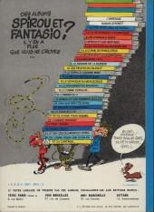 Verso de Spirou et Fantasio -13d77a- Le Voyageur du mésozoïque