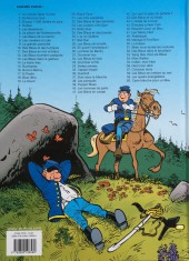 Verso de Les tuniques Bleues -1e17- Un chariot dans l'ouest