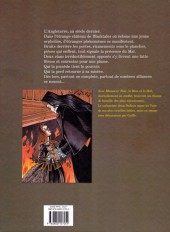 Verso de Monsieur Noir -INTb- Monsieur Noir Intégrale