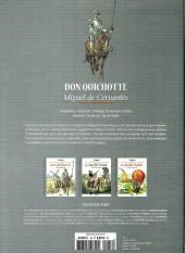 Verso de Les grands Classiques de la littérature en bande dessinée -18- Don Quichotte