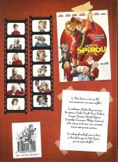 Verso de Le petit Spirou -HS2- La bd du film