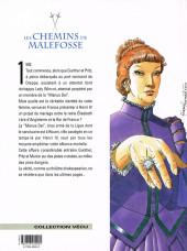 Verso de Les chemins de Malefosse -10- La main gauche de Dieu