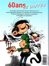 Verso de Gaston (Hors-série) - Gaston de A à Z, 60 ans de gaffes
