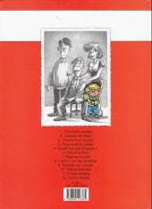 Verso de Cédric -1a1998- Premières classes