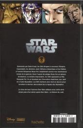Verso de Star Wars - Légendes - La Collection (Hachette) -4886- Star Wars Legacy - II. Question de Confiance