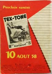 Verso de Tex-Tone -30- Tex-Tone et le jeune Elmer