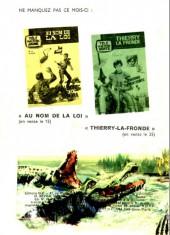 Verso de Télé série bleue (Les hommes volants, Destination Danger, etc.) -10- Les hommes volants - un client