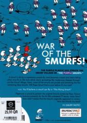 Verso de SMURFS (les Schtroumpfs en anglais) -1- The Purple Smurf
