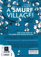 Verso de SMURFS (les Schtroumpfs en anglais) -3- The Smurf King