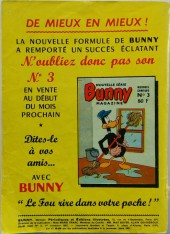 Verso de Bunny (1re Série - Sage) -2- Les naufrageurs naufragés