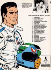 Verso de Michel Vaillant -8xFINA- Le 8e pilote