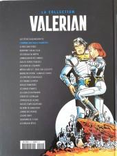 Verso de Valérian - La collection (Hachette) -2- L'empire des mille planètes