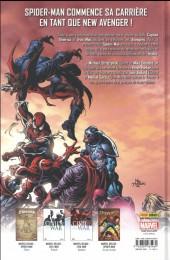 Verso de Spider-Man - New Avengers - New Avengers
