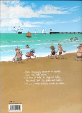 Verso de Alban Dmerlu (Éditions de Beaupré) -1TL- Du sable entre les orteils
