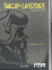 Verso de Tanguy et Laverdure - La Collection (Hachette) -25- Prisonniers des serbes