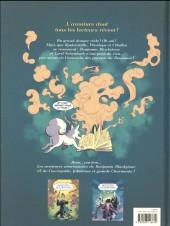 Verso de Benjamin Blackstone (Les aventures ahurissantes de) -2- La Mystérieuse Odyssée de la clé perdue
