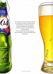 Verso de L'Élixir du Temps -1Pub- A la poursuite de la bière précieuse
