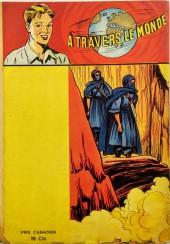 Verso de À travers le monde (3e série) -17- Le fils du Far-West