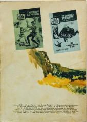 Verso de Télé série jaune (Au nom de la loi) -9- Josh Randall : Les cavaliers de l'apocalypse