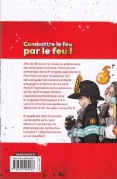 Verso de Fire Force -3- Tome 3