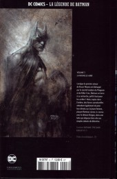 Verso de DC Comics - La légende de Batman -355- La nouvelle aube