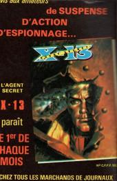 Verso de Z33 agent secret -154- Les otages du ciel