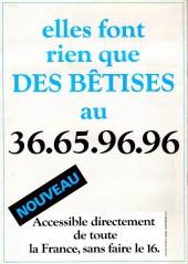 Verso de BEDE adult' -103- n° 103