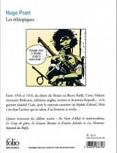 Verso de Corto Maltese -2Poch17- Les éthiopiques