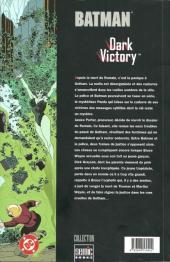Verso de Batman : Dark Victory -4- Dark Victory 4