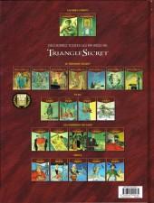 Verso de Le triangle secret - Lacrima Christi -3- Le sceau de vérité