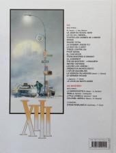 Verso de XIII -5b2011- Rouge total