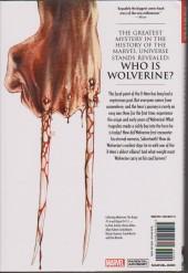 Verso de Wolverine Origin- The Complete Collection