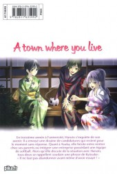 Verso de A town where you live -25- Tome 25