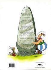 Verso de Asterix omnibus (The great) -INT02- Volume 2