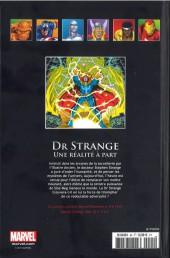 Verso de Marvel Comics - La collection (Hachette) -94XXIV- Docteur Strange - Une Réalité à Part