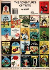 Verso de Tintin (The Adventures of) -15b90- Land of Black Gold