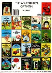 Verso de Tintin (The Adventures of) -16c1990- Destination Moon