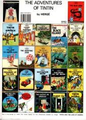 Verso de Tintin (The Adventures of) -14b90- Prisoners of the Sun